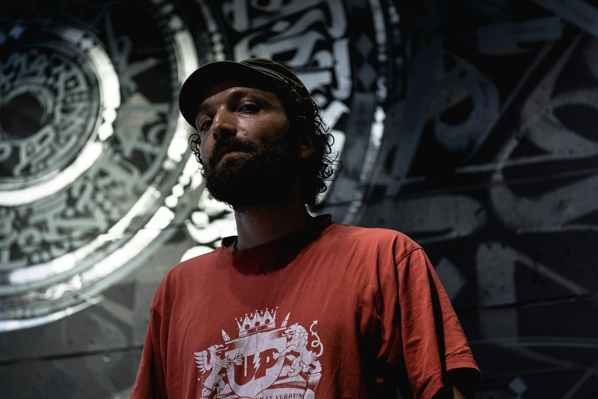 Streetart-Künstler Engin Dogan