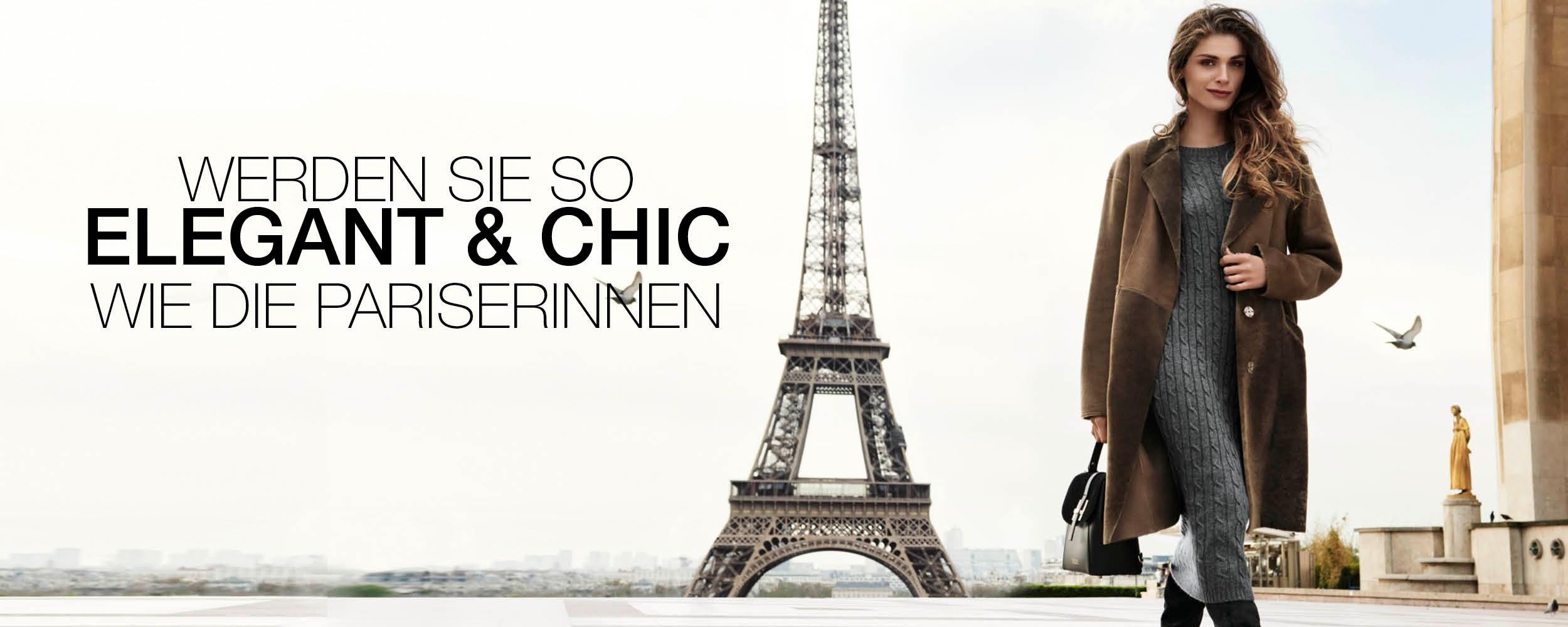 Werden Sie so elegant und schick wie die Pariserinnen