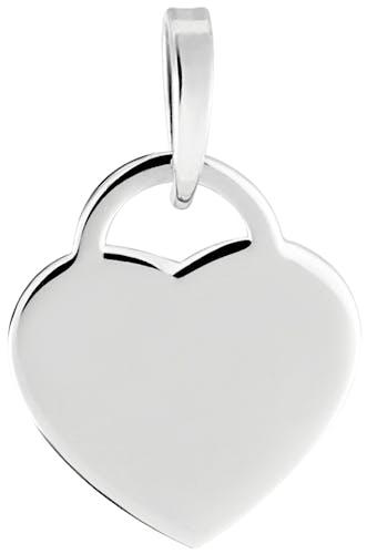Ce Pendentif CLEOR est en Argent 925/1000 en forme de Cœur