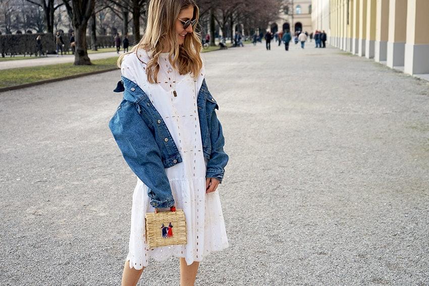 Alexandra Krüsi, Blogger, Sommer-Look, Basket Bag, Heimat Atlantica, München, Hofgarten