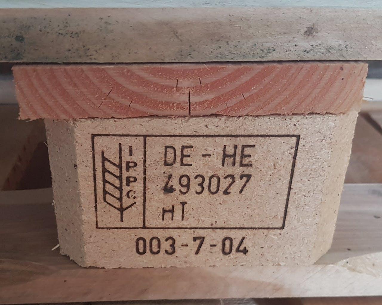 Hersteller Angaben Europalette