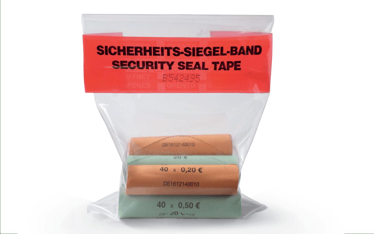 Sicherheitssignierband Beutel