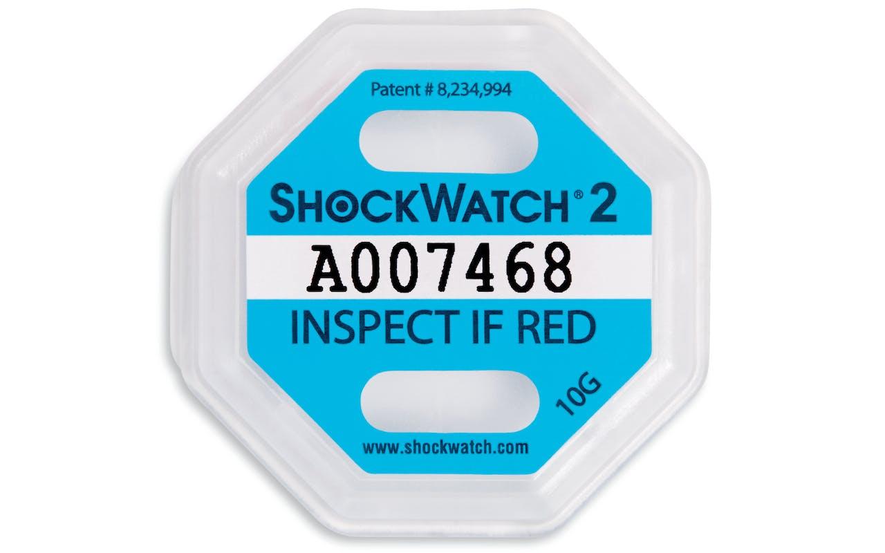 Shockwatch weiß