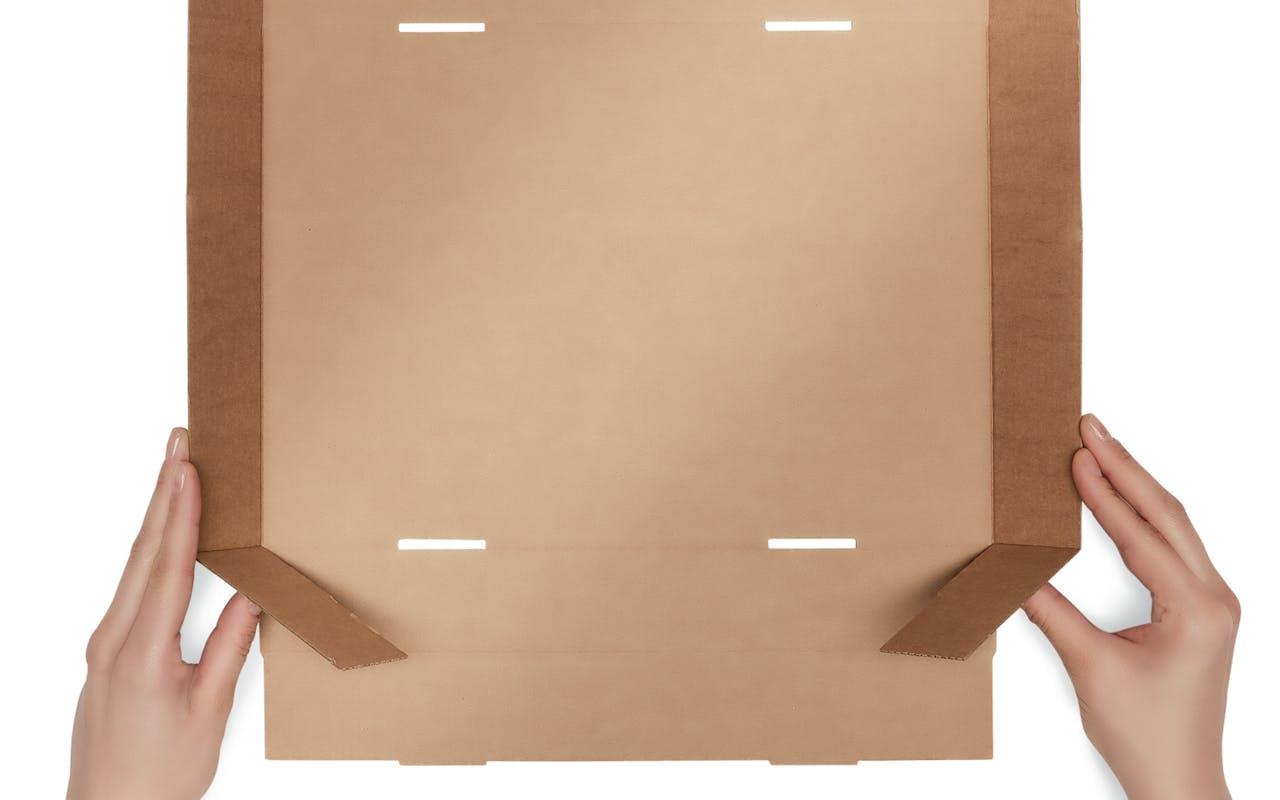 Stülpdeckelkarton Aufbau