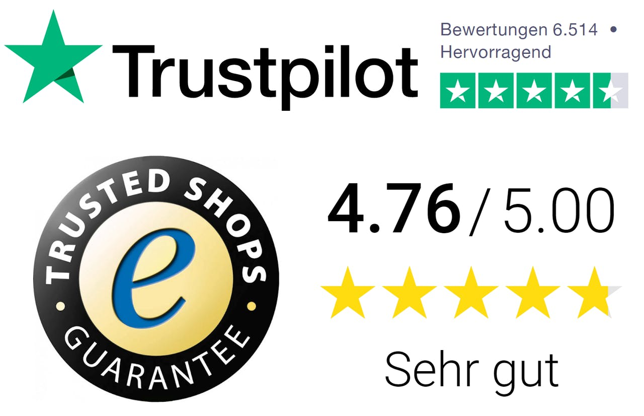 ust pilot und trusted shops