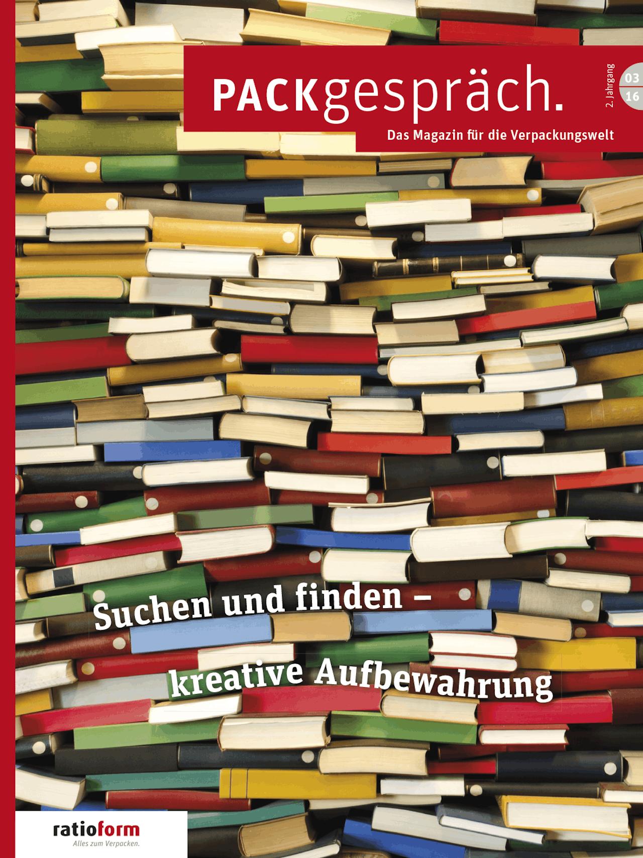 Packgespräch, Magazin Verpackungswelt 03 16
