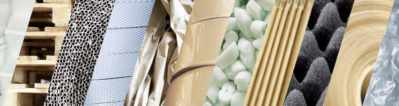 übersicht verpackungsmaterialien