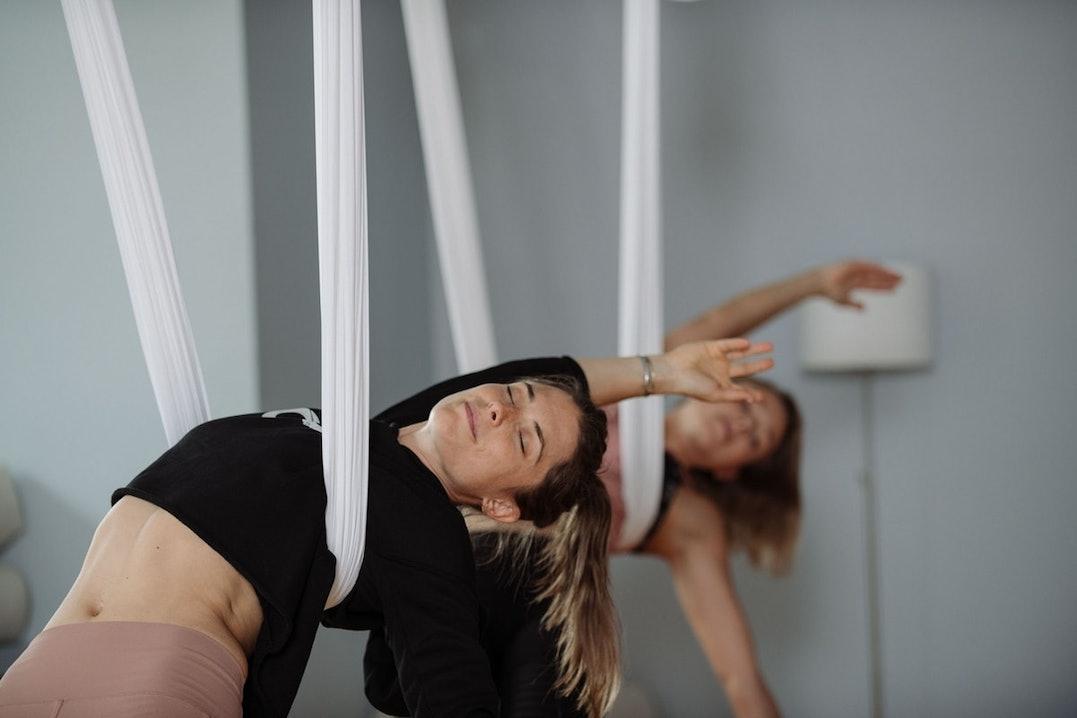 Aerial Yoga Asana