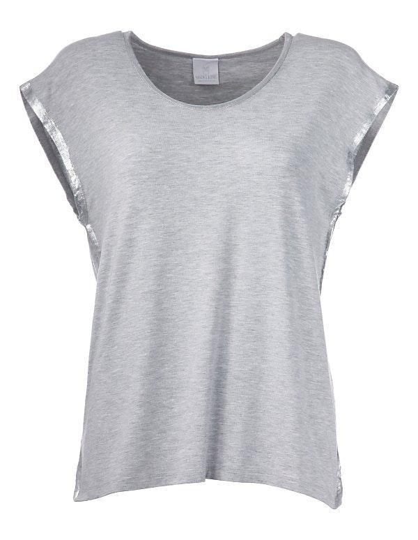 Elegantes Shirt mit Glanzeffekten