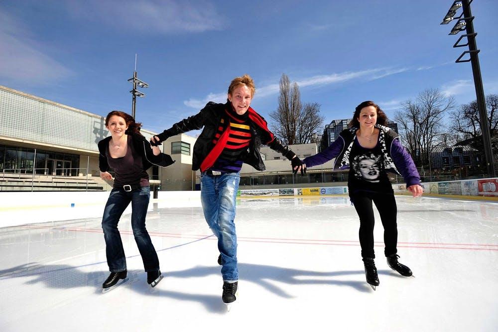 Eislaufen-Prinzregentenstadion