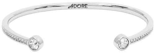 Bracelet ADORE Métal Cristal Blanc