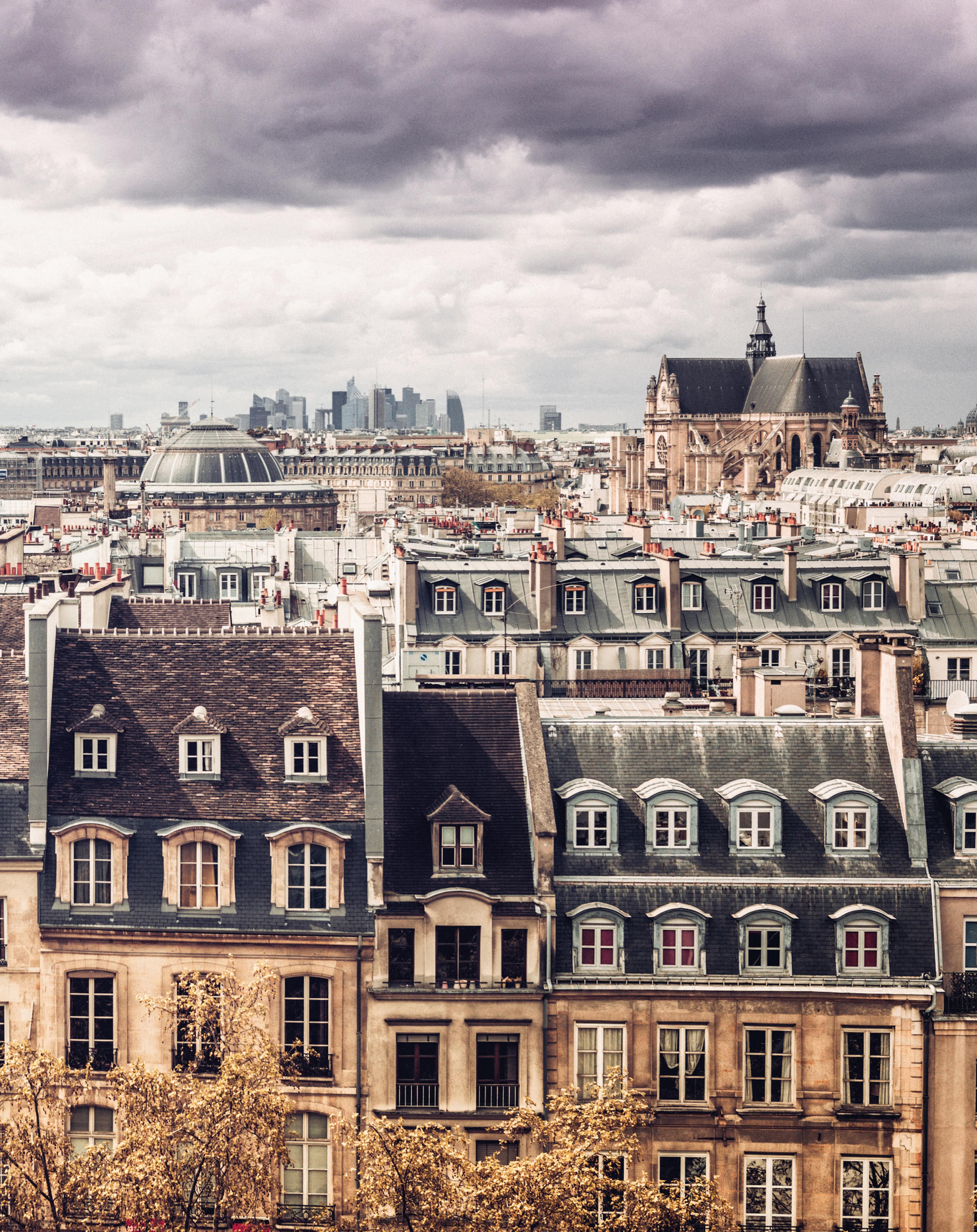 Hauswand Paris