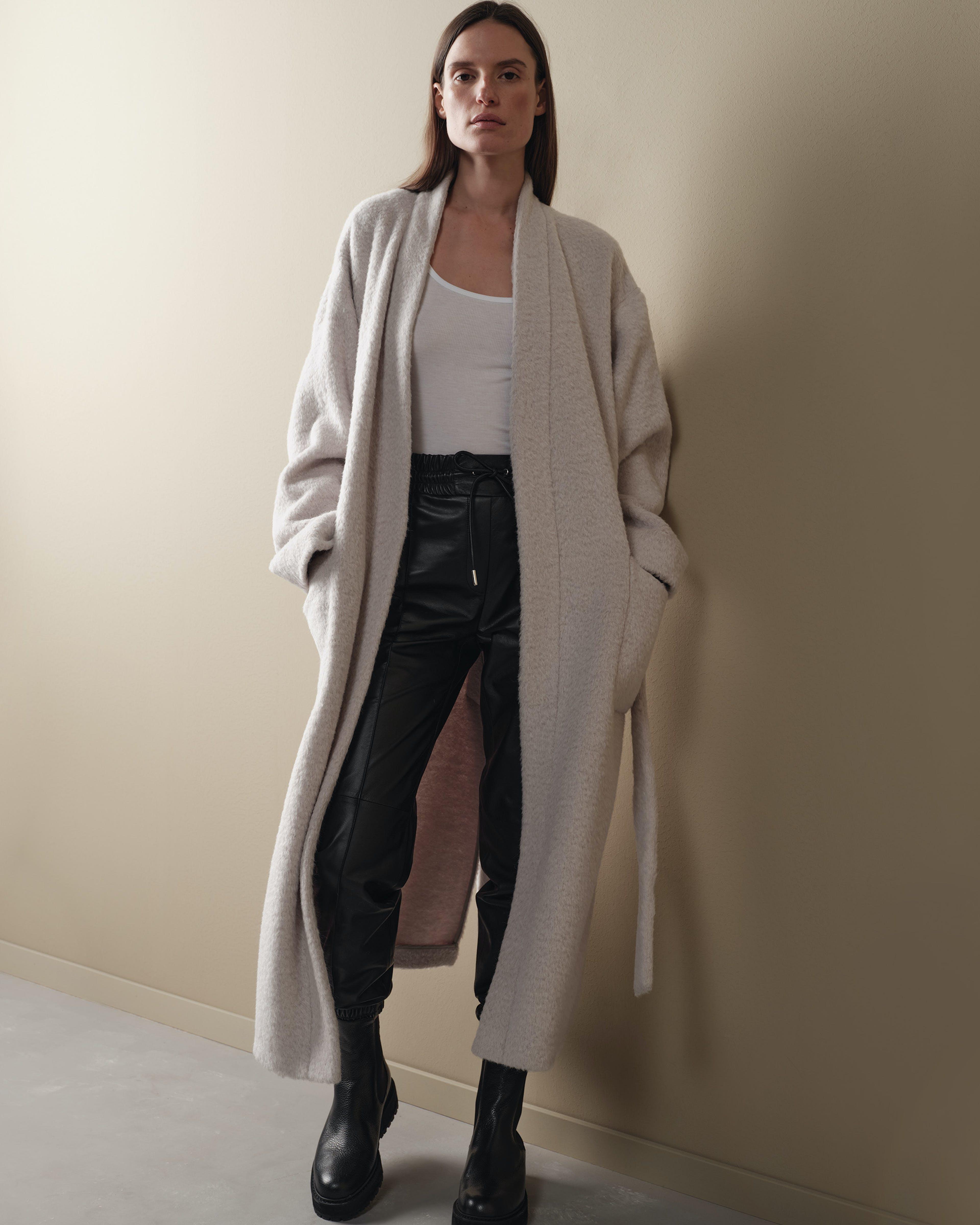 Damen Lederhose Schwarz