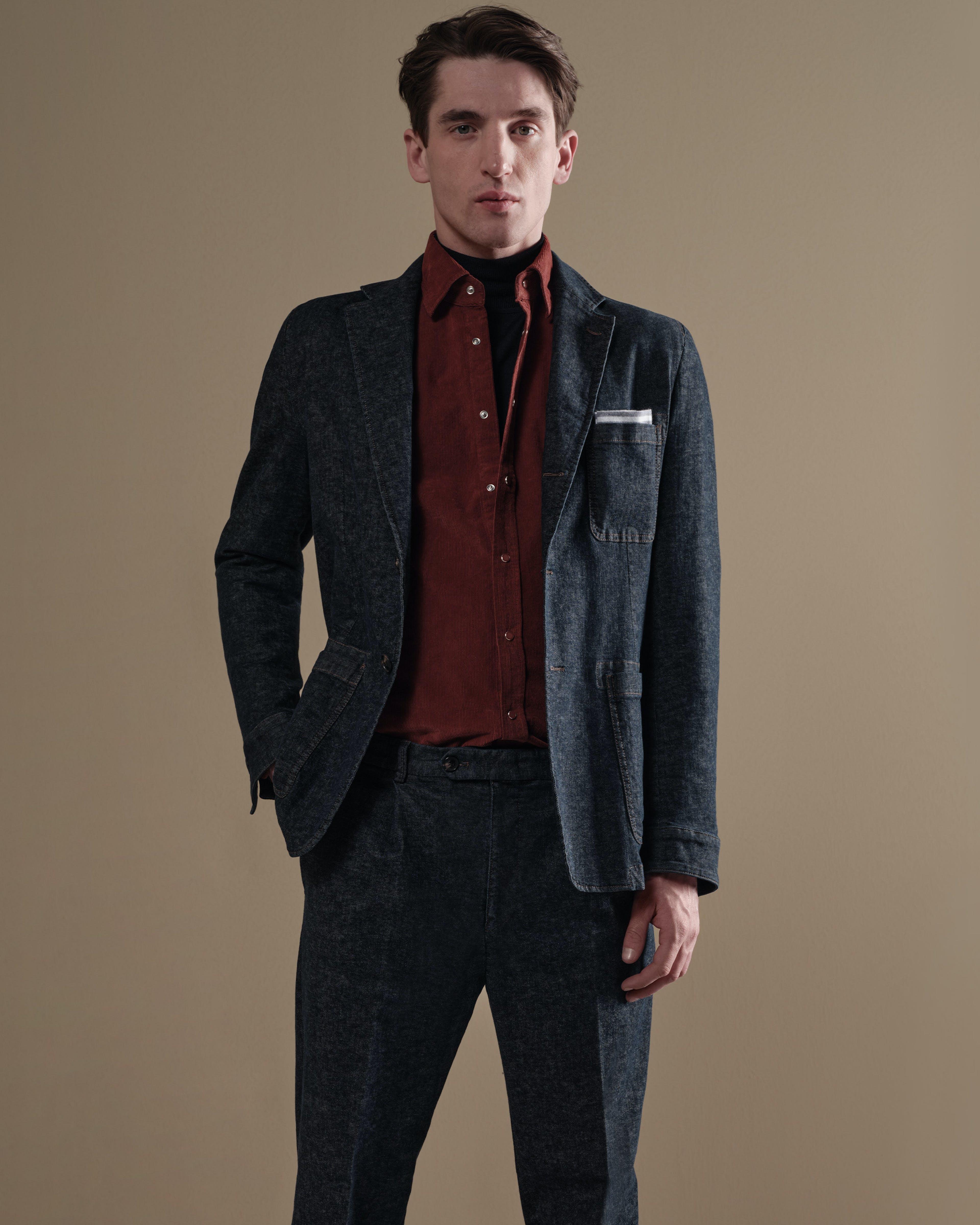 Herren Denim Outfit