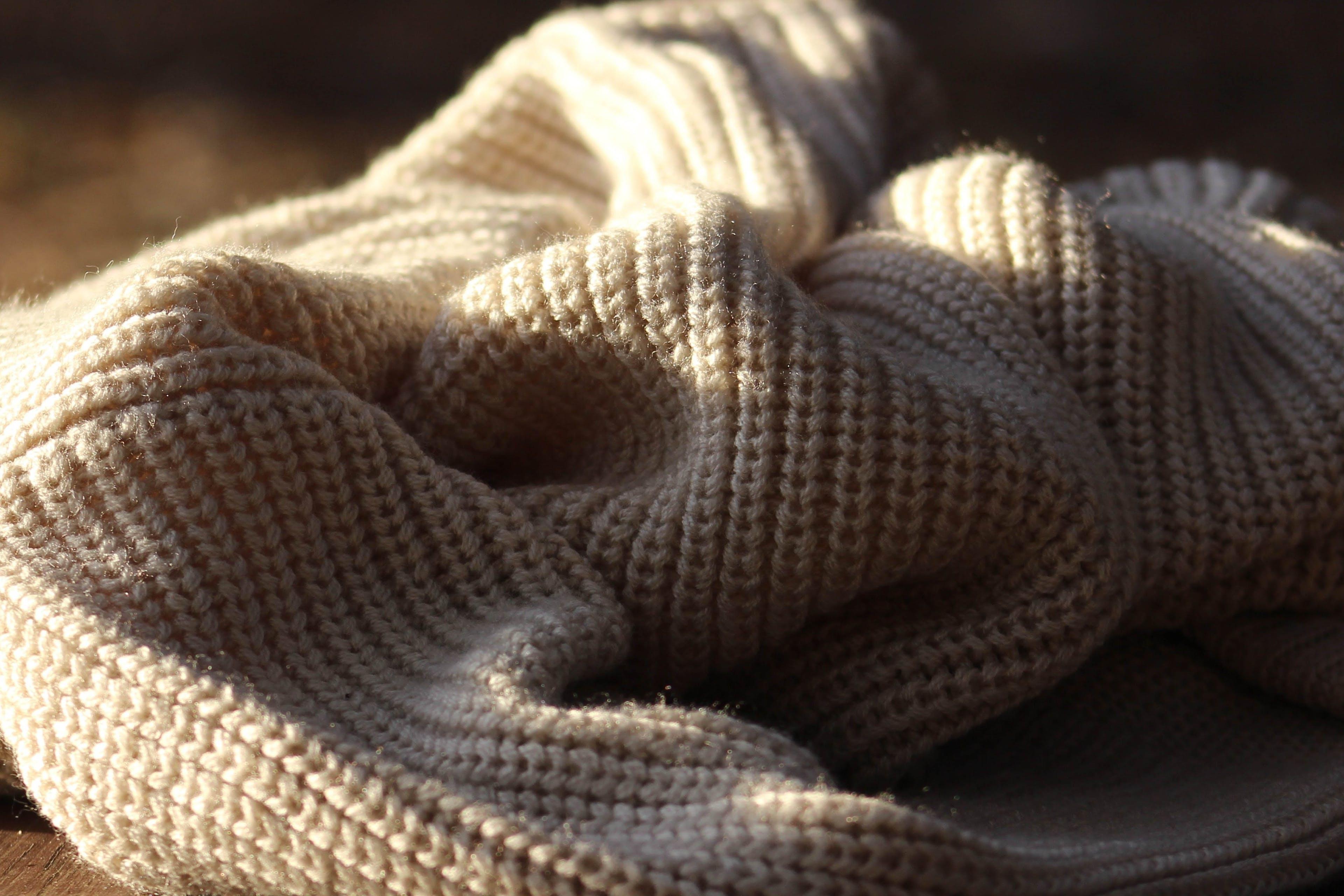 Merino Wolle beige