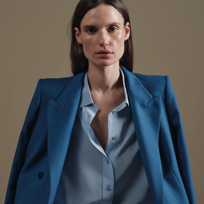 Damen Blazer blau