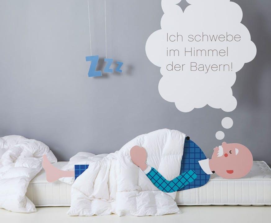 Ich schwebe im Himmel der Bayern