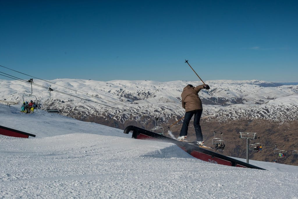 Freeride im Cardrona Valley