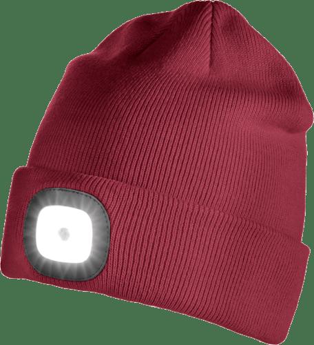 Iceport LED Beanie Lighty - Dark Red