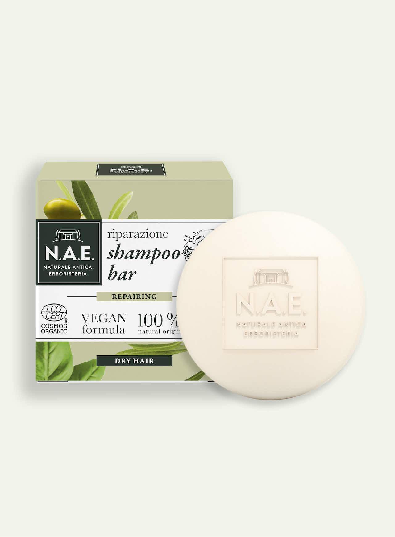 Riparazione regeneračný tuhý šampón