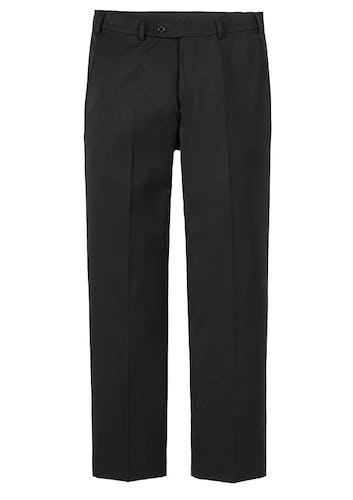 Schwarze Hose für einen Anzug.