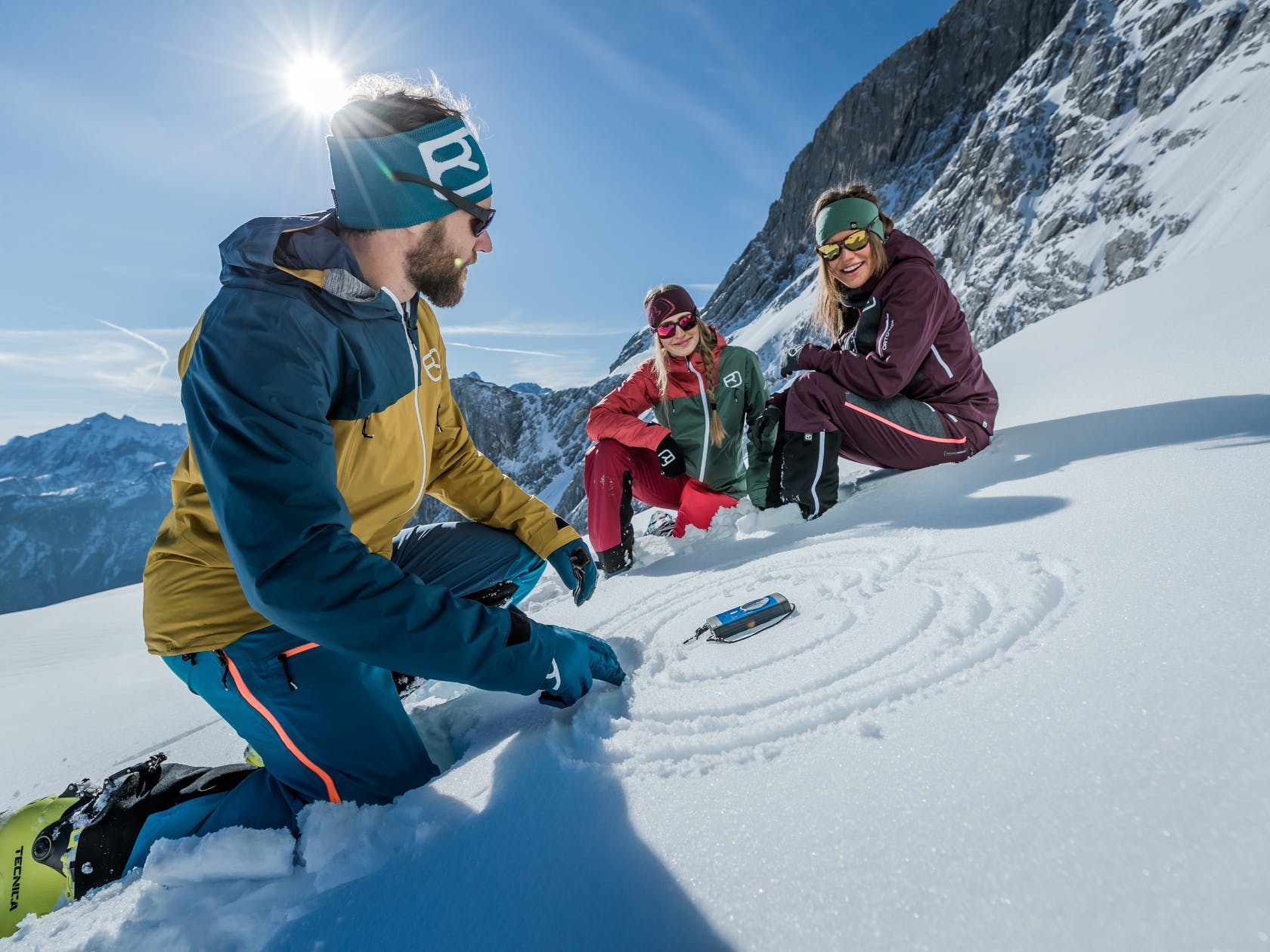 ortovox skitouring shop safety first