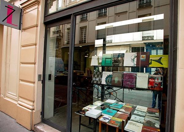 Buchladen von Karl Lagerfeld in Paris