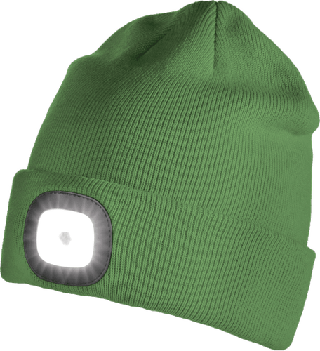 Iceport LED Beanie Lighty - Dark Green