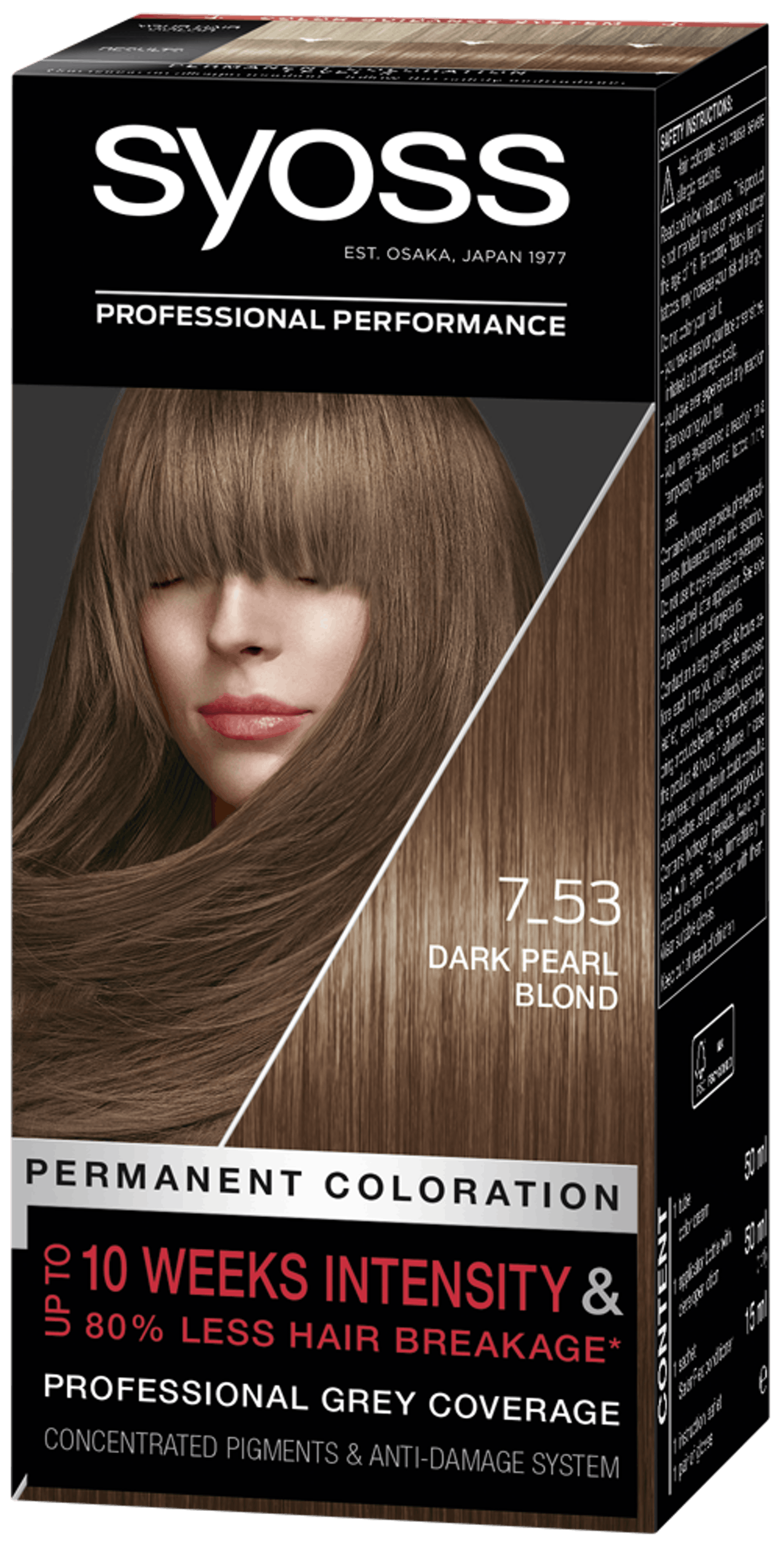 Syoss Permanent Coloration 7_53 Dark Pearl Blond