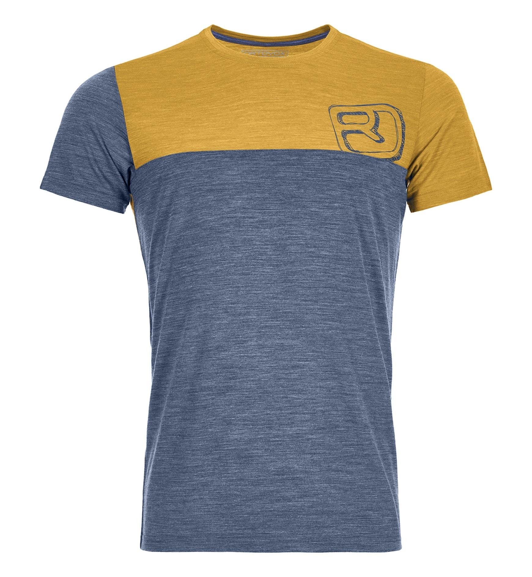 Ortovox 150 Merino Cool Logo - T-Shirt Bergsport - Herren