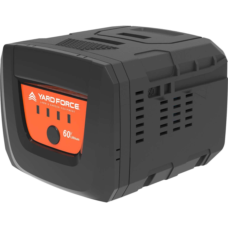 Yard Force Lithium-Ionen Batterie AL M40 60 V mit 4 Ah