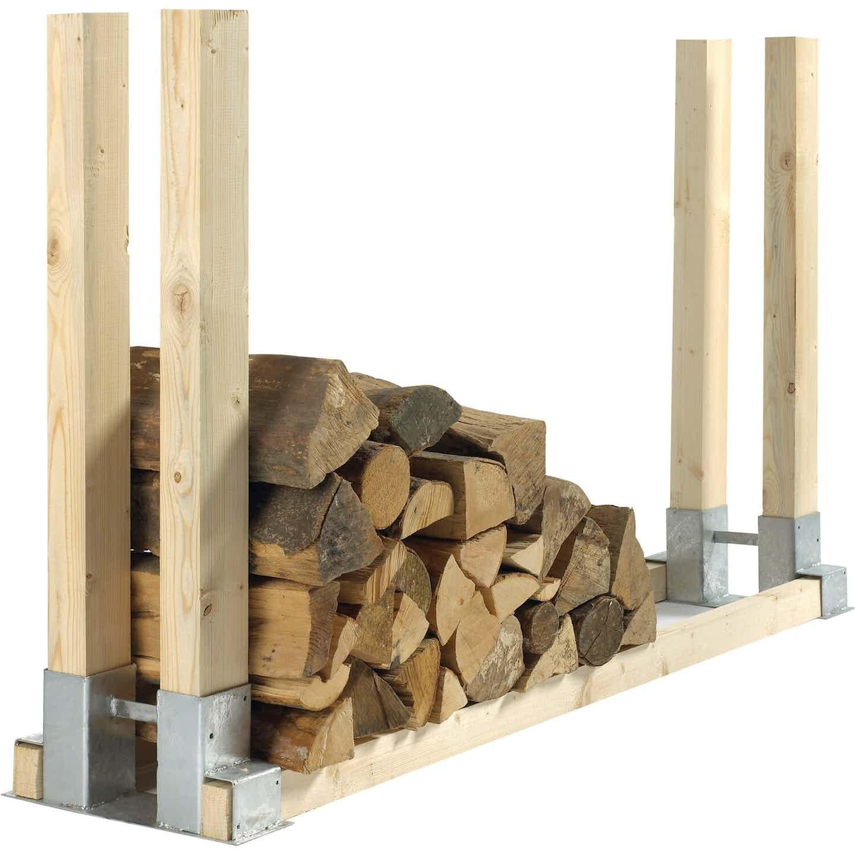 Brennholzstapelhalter 34 cm x 10 cm