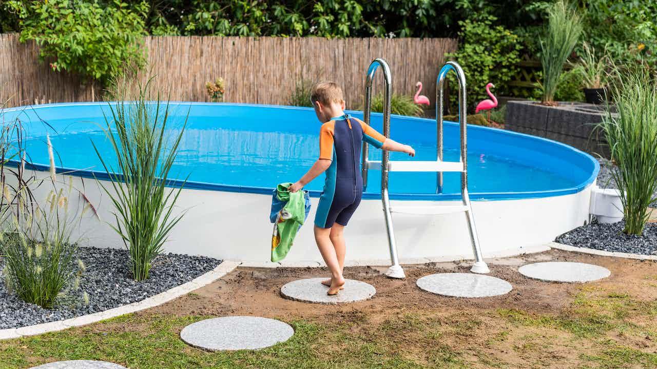 Pool selbst bauen
