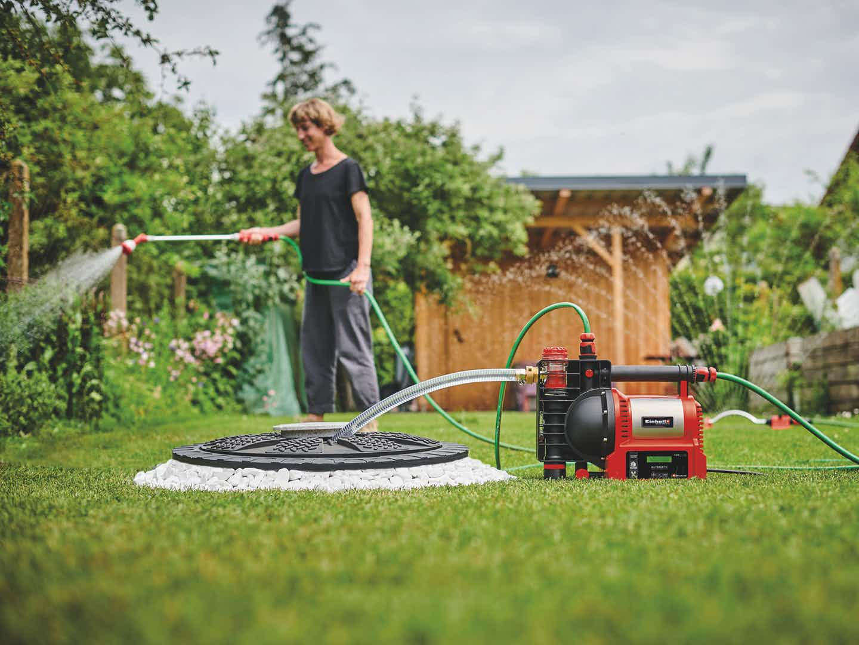 Gartenbewässerung Einhell