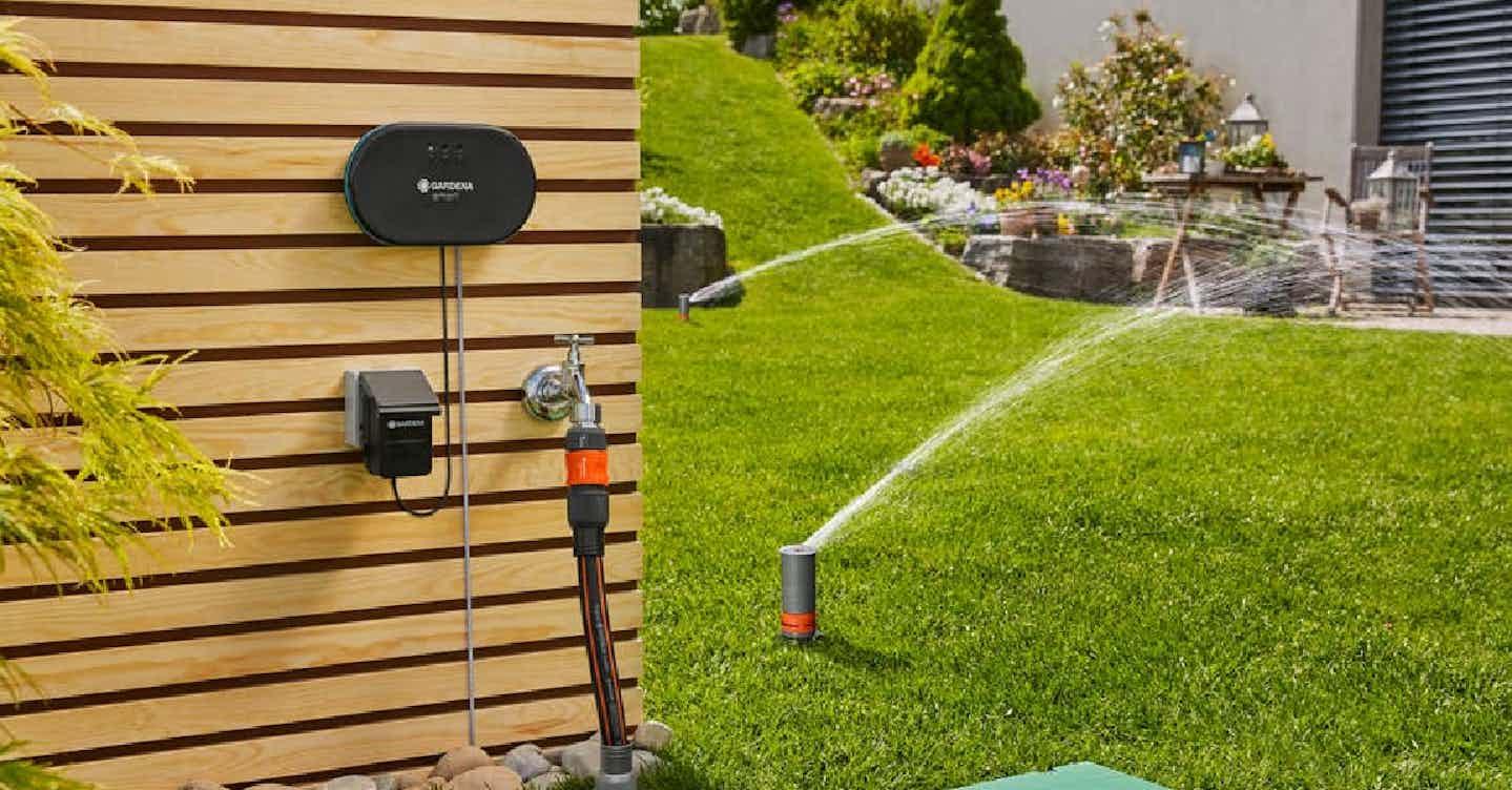 Smart Gardening Bewässerung Garten