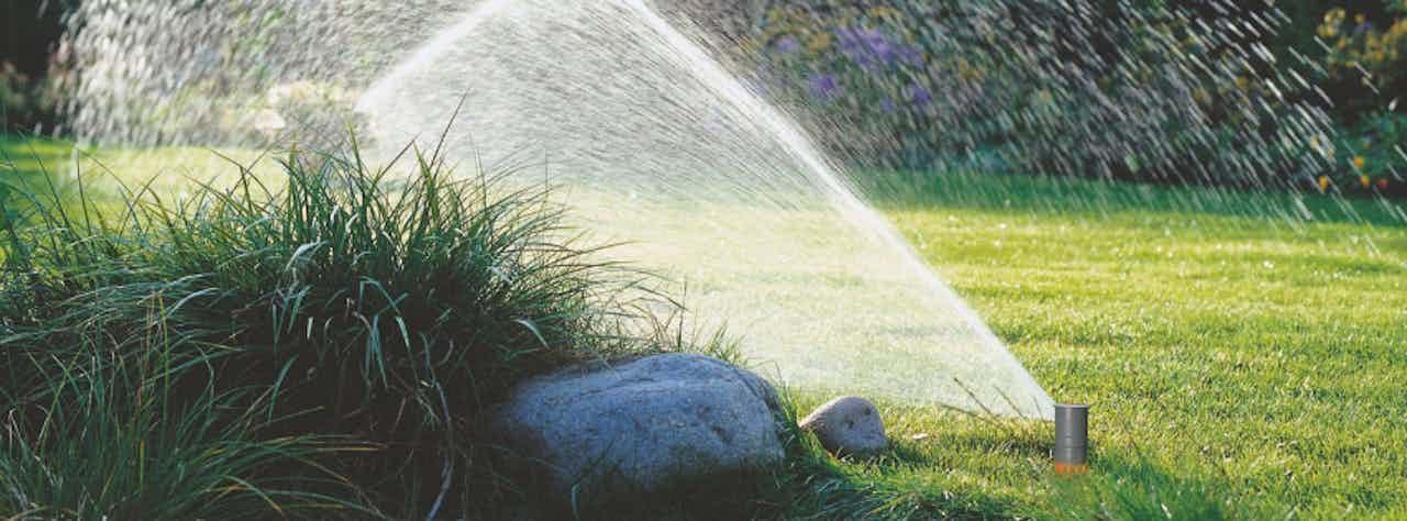 Bewässerungs-Sprinkler für den Garten