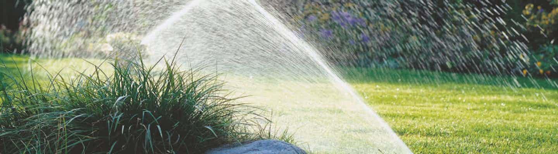 Bewässerungssystem für den Garten