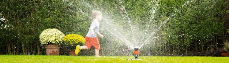 Optimale Bewässerung von Rasen