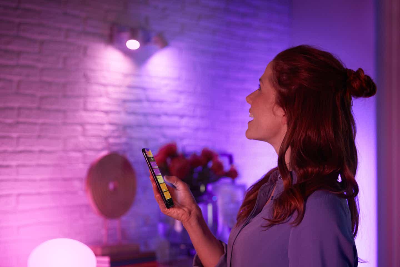 Philips Hue Appsteuerung mit Bluetooth