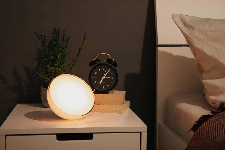 Philips Hue smarte Lampe fürs sanfte Wecken / Aufstehen