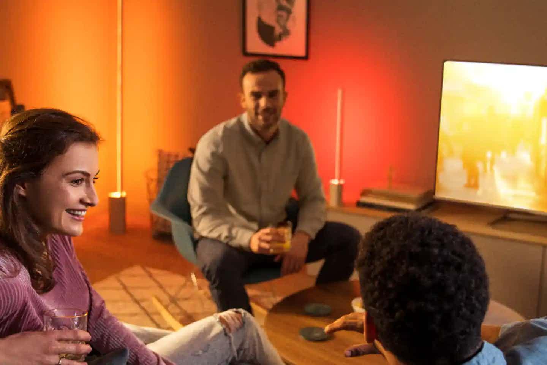 Philips Hue kompatibel mit Fernseher und Musik