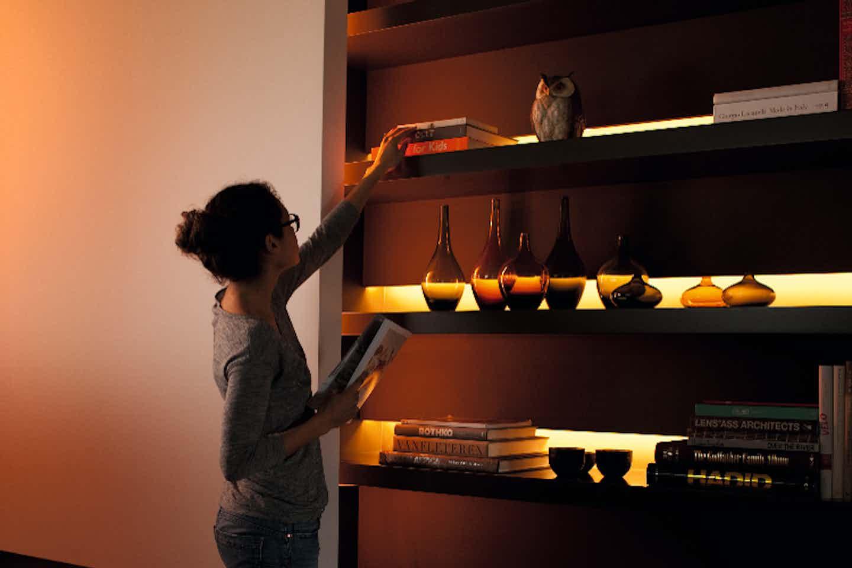 Philips Hue indirekte smarte Beleuchtung