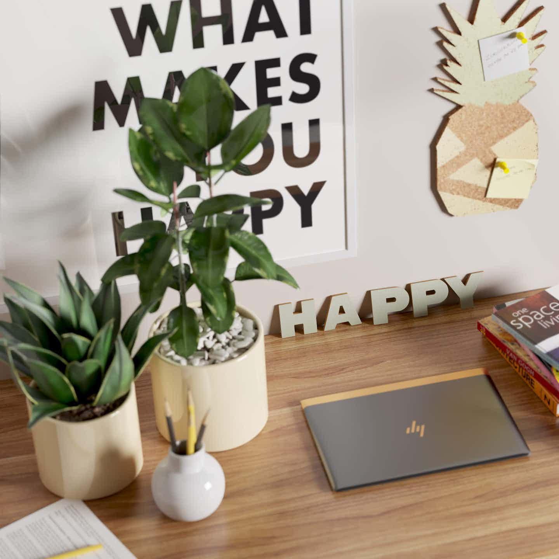 Deko und Pflanzentipps für das Arbeitszimmer