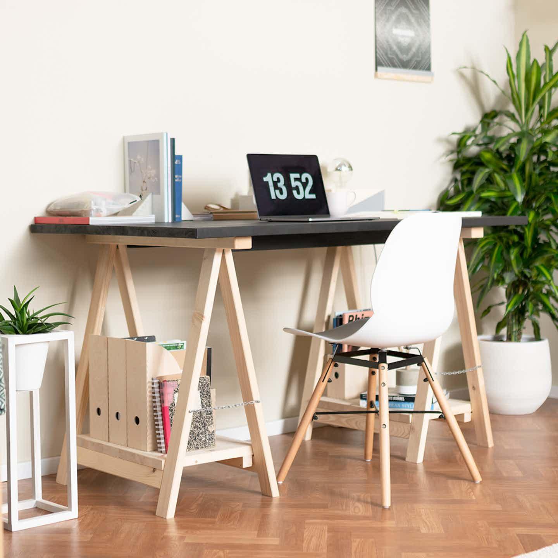 Schreibtisch selbst bauen in wenigen Schritten