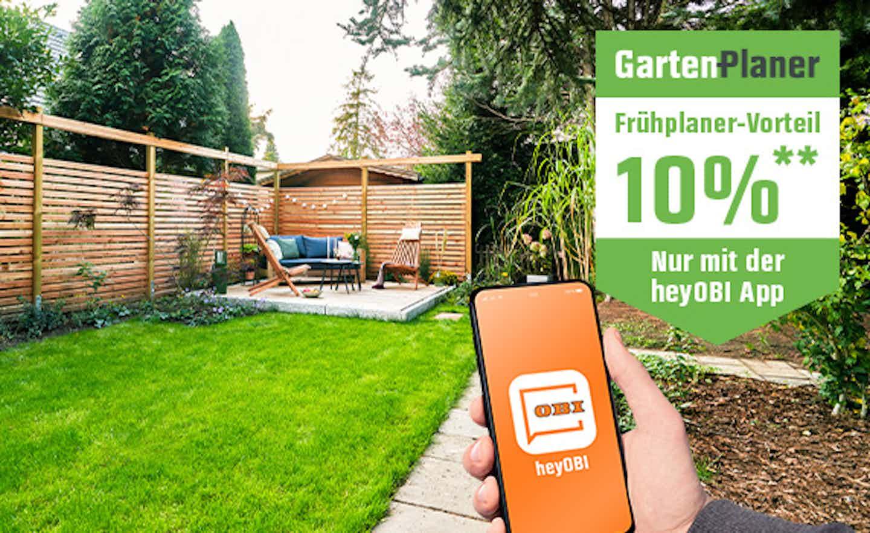 Terrasse und Sichtschutz planen und bauen mit OBI