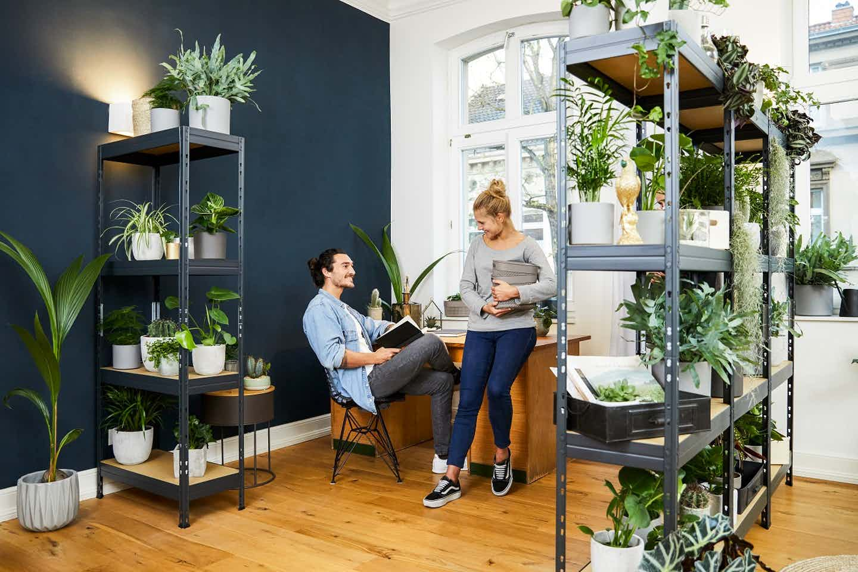 Urban Jungle home Office