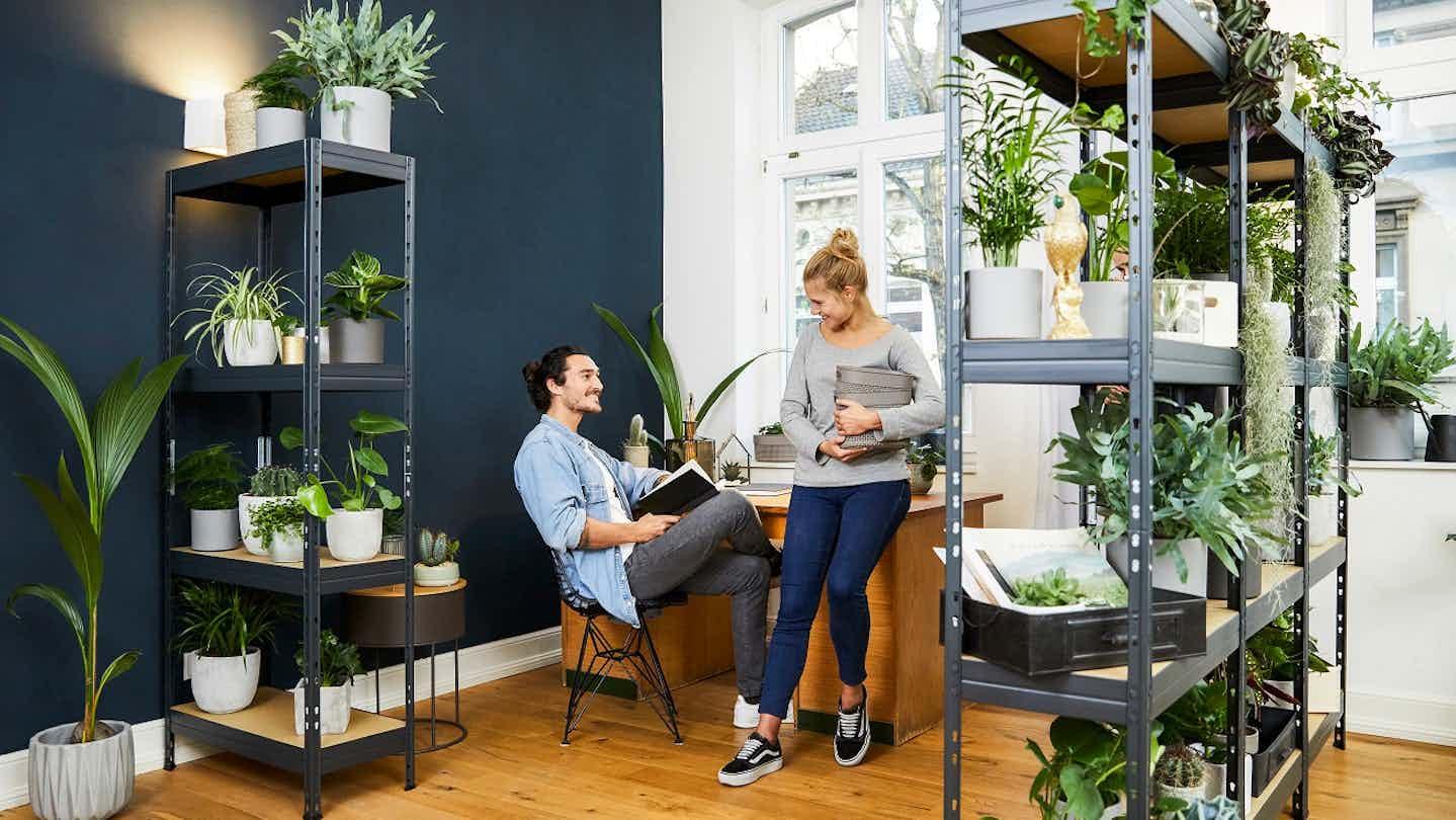 Home Office Schreibtisch Urban Jungle