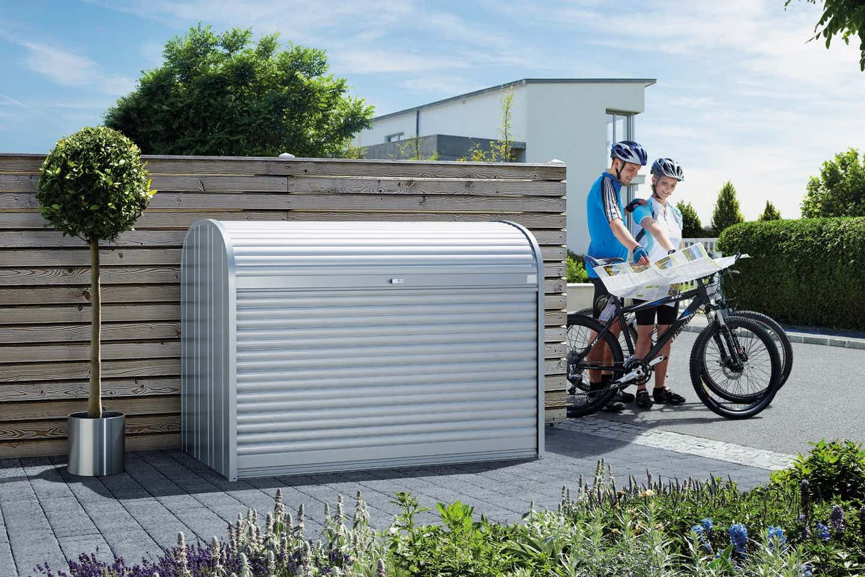 Biohort Fahrrad Garage für den Vorgarten