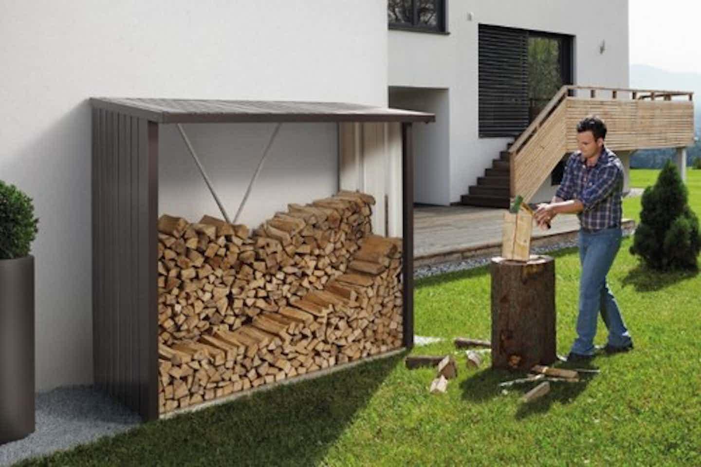 Biohort Kaminholzregal für den Garten