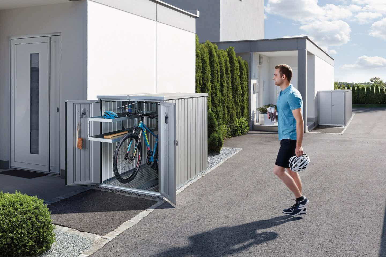 Biohort Fahrrad Garagen verschiedene Größen